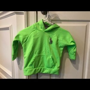 Polo Ralph Lauren Hooded Polyester Pullover Sz 2T